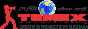 Temex Advertising Logo Negru